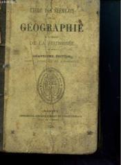 Etude Des Elements De La Geographie A L'Usage De La Jeunesse - Couverture - Format classique