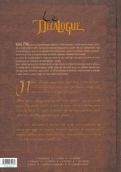 Le décalogue t.4 ; le serment - 4ème de couverture - Format classique