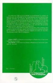 Ville Vers Une Nouvelle Definition ? - Couverture - Format classique