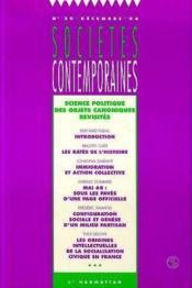 Science Politique Des Objets Canoniques Revisites - Couverture - Format classique
