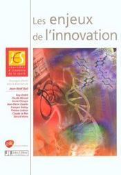 Les Enjeux De L'Innovation - Intérieur - Format classique