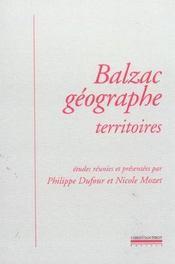 Balzac Geographe - Intérieur - Format classique