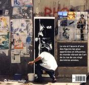 Blek le rat ; en traversant les murs - 4ème de couverture - Format classique