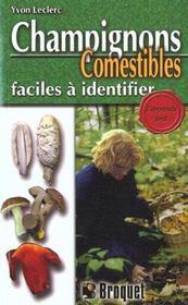 Champignons Comestibles Faciles A Identifier - Intérieur - Format classique