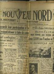 Le Nouveau Nord Maritime N°923 - 5eme Annee - Jeudi 27 Octobre 1949. - Couverture - Format classique