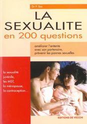 La Sexualite En 200 Questions - Intérieur - Format classique