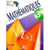 Mathématiques ; 3ème ; livre de l'élève - Couverture - Format classique