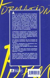 Genetique De La Schizophrenie - 4ème de couverture - Format classique