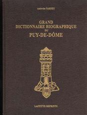 Biographique Puy-De-Dome - Intérieur - Format classique