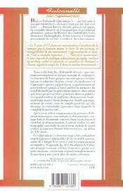 Fulcanelli - 4ème de couverture - Format classique