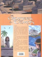 Les croisees du temps t.1 ; la momie sans yeux - 4ème de couverture - Format classique