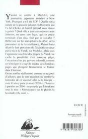 Melancholia - 4ème de couverture - Format classique