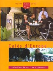 Cafes D'Europe - Intérieur - Format classique