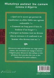 Histoires autour du canun - 4ème de couverture - Format classique