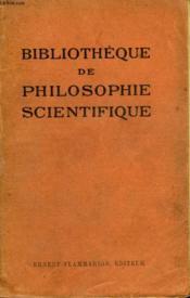 Les Nevroses. Collection : Bibliotheque De Philosophie Scientifique. - Couverture - Format classique