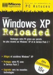 Windows XP Reloaded - Intérieur - Format classique