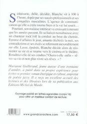 Blanche, Night And Day - 4ème de couverture - Format classique
