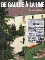 De Gaulle A La Une - Intérieur - Format classique