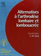 Alternatives à l'arthrodèse lombaire et lombosacrée - Intérieur - Format classique