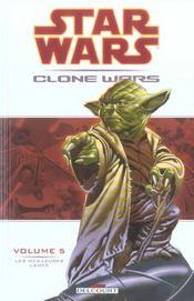 Star Wars - clone wars t.5 ; les meilleurs lames - Intérieur - Format classique