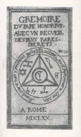 Grémoire du Pape Honorius avec un recueil des plus rares secrets - Couverture - Format classique