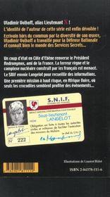 Revue Jules Verne N.2 ; L'Argent - 4ème de couverture - Format classique