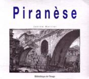 Piranese - Couverture - Format classique