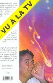 Fables bulleuses - 4ème de couverture - Format classique