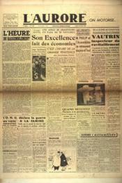 Aurore (L') N°464 du 14/02/1946 - Couverture - Format classique
