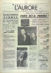 Aurore (L') N°8559 du 08/03/1972 - Couverture - Format classique