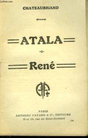 Atala Suivi De Rene. Collection : Les Meilleurs Livres N° 74. - Couverture - Format classique