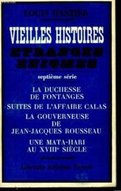 Vieilles Histoires Et Etranges Enigmes. Septieme Serie. - Couverture - Format classique