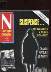 N Comme Nouvelles N°7 - Le Crime Parfait - Couverture - Format classique