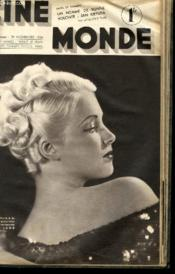 CINEMONDE - 7e ANNEE - N° 319 - UN HOMME DE BONNE VOLONTE: JAN KIEPURA - LA MODE AU CINEMA... - Couverture - Format classique