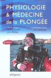 Physiologie et médecine de la plongée (2e édition) - Intérieur - Format classique