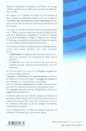 Physiologie et médecine de la plongée (2e édition) - 4ème de couverture - Format classique