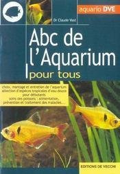 Abc De L'Aquarium Pour Tous - Intérieur - Format classique