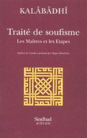 Traite de soufisme, les maitres et les etapes - Intérieur - Format classique