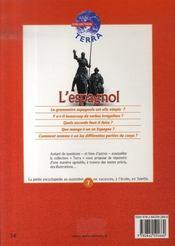 L'espagnol - 4ème de couverture - Format classique