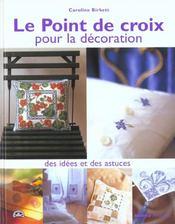 Point De Croix Pour La Decoration - Intérieur - Format classique