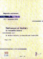 Medicament Et Hopital ; La Nouvelle Donne - Intérieur - Format classique