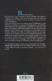 Malediction du voyageur (la) - 4ème de couverture - Format classique