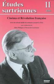 Etudes sartriennes 11 (2006) cinema et revolution francaise - Couverture - Format classique