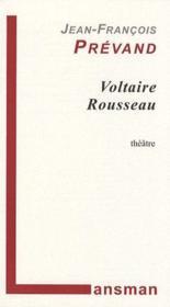 Voltaire Rousseau - Couverture - Format classique