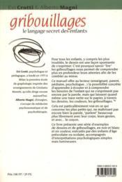 Gribouillages : le langage secret des enfants - 4ème de couverture - Format classique
