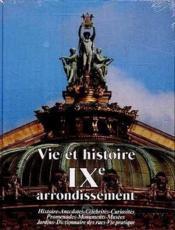 Vie et histoire ixe arrondissement - Couverture - Format classique