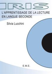 Apprentissage de la lecture en langue seconde - Couverture - Format classique