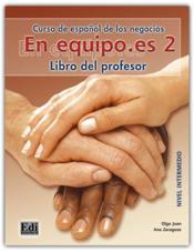 En Equipo Es 2 Libro Del Profesor - Couverture - Format classique