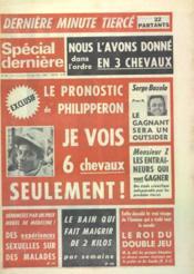 Special Derniere N°159 du 17/03/1972 - Couverture - Format classique