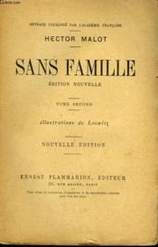 Sans Famille. Tome 2. - Couverture - Format classique